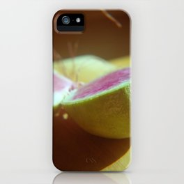 watermelon radish iPhone Case