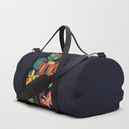 Wild Flowers Duffle Bag