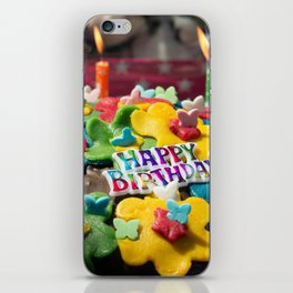 events and occasions iPhone Skin