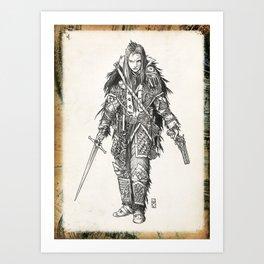 Raven Enclave Executioner Art Print