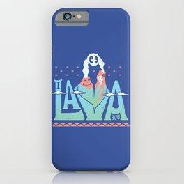One Lava iPhone Case