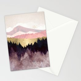 Plum Forest Stationery Cards
