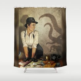 Detective 2 Shower Curtain