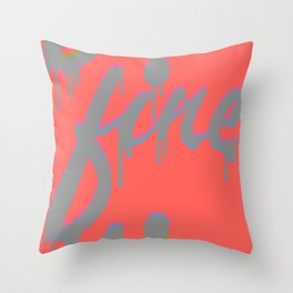 Bright Bright Throw Pillow