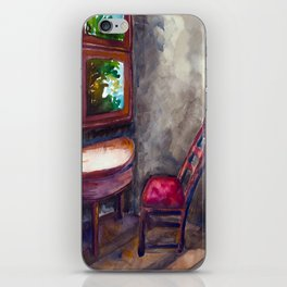 A room of one's own iPhone Skin