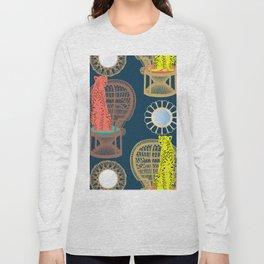 Rattan Cheetah Chairs + Mirrors Long Sleeve T-shirt