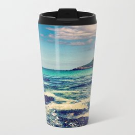 Blue Skies  Travel Mug