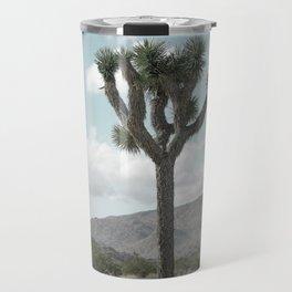 Joshua Tree On A Calm Cool Day Travel Mug