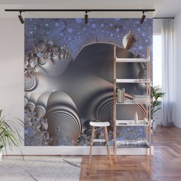 Warped time and space Wall Mural