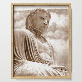 Daibutsu Great Buddha of Kamakura Serving Tray