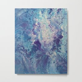 Fluid No. 21 Metal Print