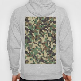 Distressed Army Camo Hoody