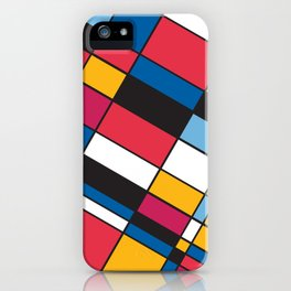 Squares M1 iPhone Case