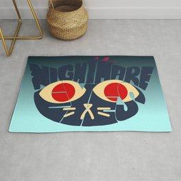 Mae - Nightmare eyes Rug