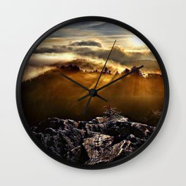 SMOKEY MOUNTAIN - 160918/1 Wall Clock