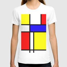 Mondrian 4 #art #mondrian #artprint T-shirt
