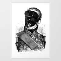 bdsm Art Prints featuring BDSM XXVIII by DIVIDUS