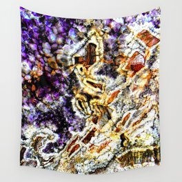 Purple Agate Wall Tapestry