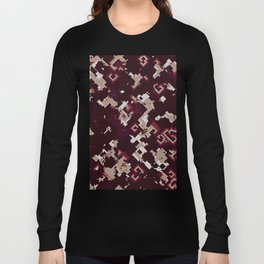 Noisy pattern with chaotic spirals Long Sleeve T-shirt