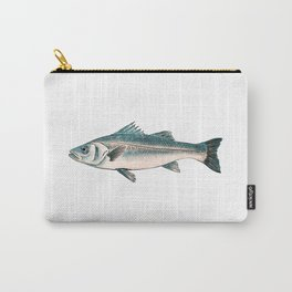 Illustration of Striped bass Carry-All Pouch