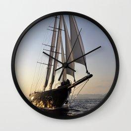 sailboat Wall Clock