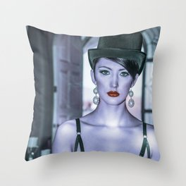 4891 Debutante Mistress Natasha Throw Pillow