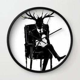 Hannibal Lecter NBC Stag Antlers Lamb Wall Clock