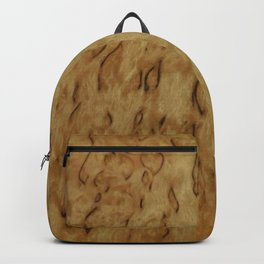 original birch wooden design the nature is awesome Backpack