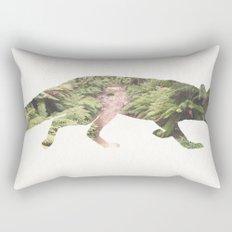 The Curious Fox Rectangular Pillow