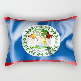 Belize Flag Rectangular Pillow