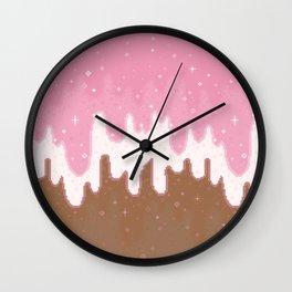 Summer Sweets:  Neapolitan Galaxy Wall Clock