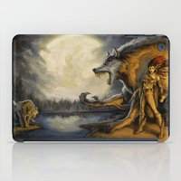 warcraft iPad Cases featuring TimberWerewolf by BAXA by baxaart