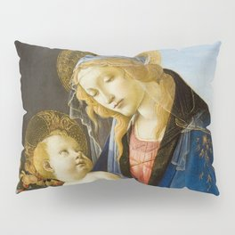 The Virgin and Child by Sandro Botticelli Pillow Sham