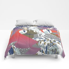 Father winter Comforters