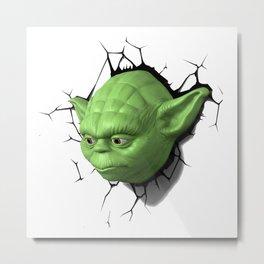 Yoda 02 Metal Print