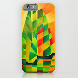 Chinese Junks, Sunset, Sails and Shadows iPhone Case