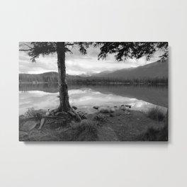 Beauvert Lake - Jasper, Alberta Metal Print