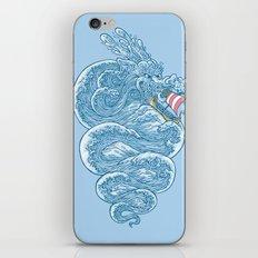 hello little dragon iPhone Skin
