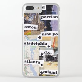 East Coast Clear iPhone Case