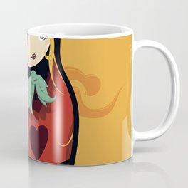 Matrioshka red Coffee Mug