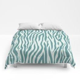 Zebra 004 Comforters