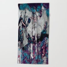 Within This Strange And Frightening World Beach Towel