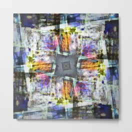 sound obstruction sustaining obfuscation Metal Print