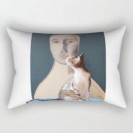 Mr.Stone and Rica Rectangular Pillow