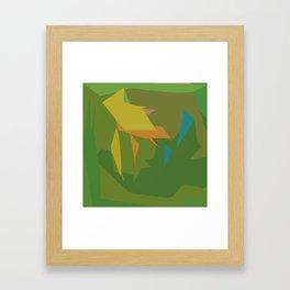 All because of true love Framed Art Print