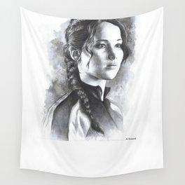 Katniss Wall Tapestry