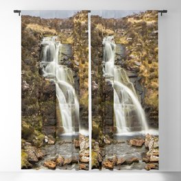 Moorland Waterfall Blackout Curtain