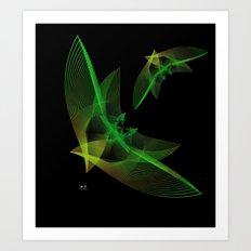 In Flight 4 of 5 Series Art Print