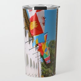 Santa Barbara Historic Flags Travel Mug