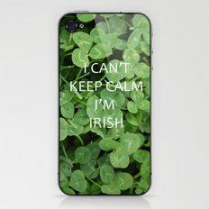 I Can't Keep Calm I'm Irish iPhone & iPod Skin